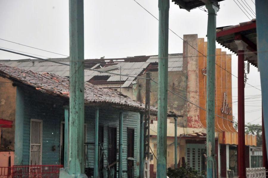 huracan irma, sancti spiritus, yaguajay, consejo de defensa, intensas lluvias