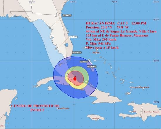 huracan irma, sancti spiritus, meteorologia