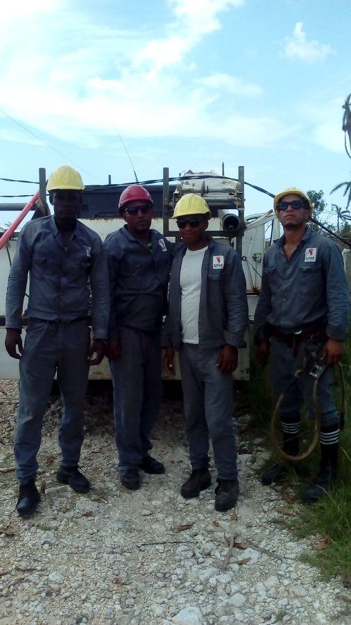 sancti spiritus, yaguajay, huracan irma, electricidad, empresa electrica