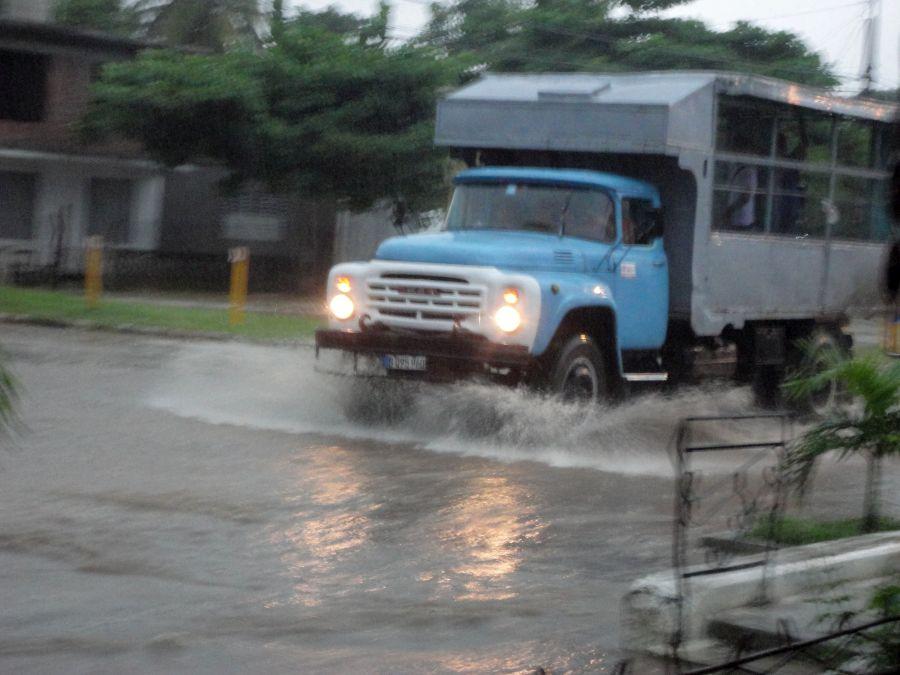 sancti spiritus, huracan irma, intensas lluvias