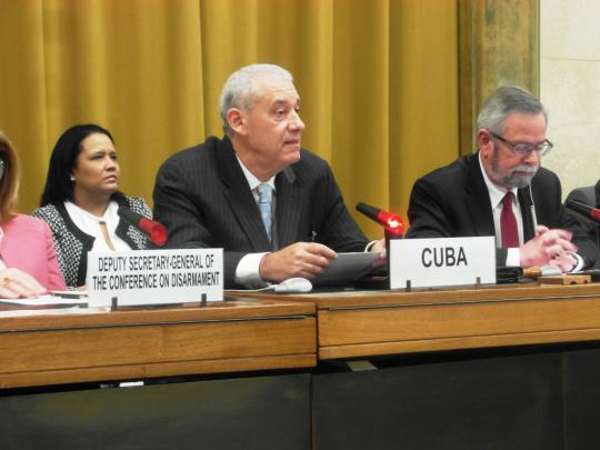 Cuba, ONU, armas nucleares, paz