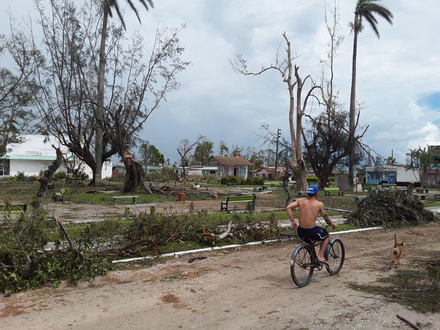 huracán Irma, Mayajigua, Yaguajay, recuperación