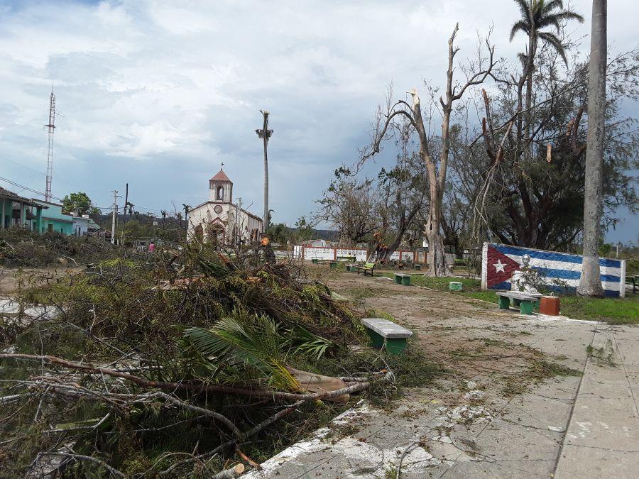 huracán Irma, recuperación, Mayajigua, Yaguajay