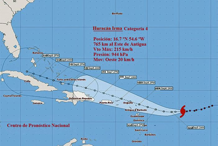 cuba, sancti spiritus, huracan irma, meteorologia