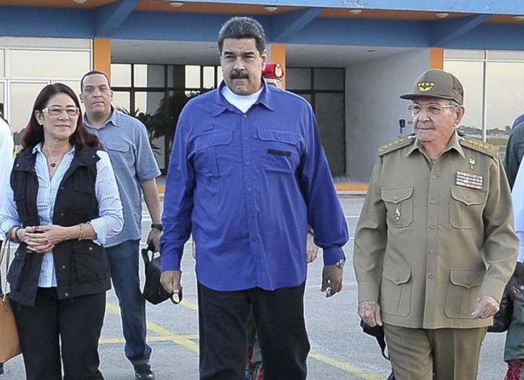 cuba, venezuela, raul castro, nicolas maduro, huracan irma