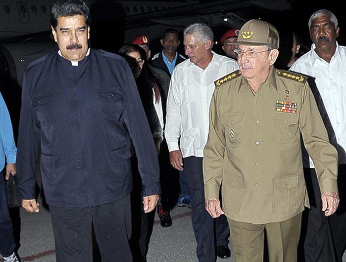 cuba, venezuela, huracan irma, nicolas maduro, raul castro