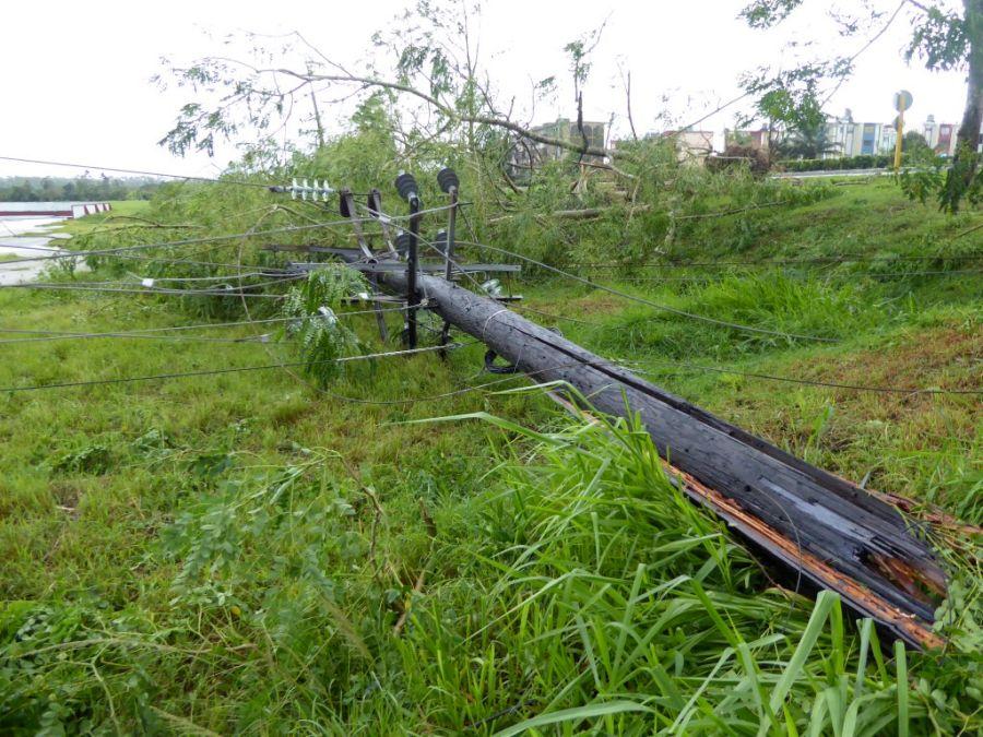 sancti spiritus, huracan irma, intensas lluvias, defensa civil, comunicaciones, electricidad