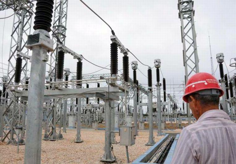 La subestación de 220 kV construida en la zona de Tuinucú representa una fortaleza para el desarrollo de la provincia espirituana. (Foto: Vicente Brito/ Escambray)