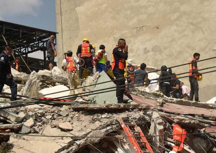 mexico, terremoto, desastre natural