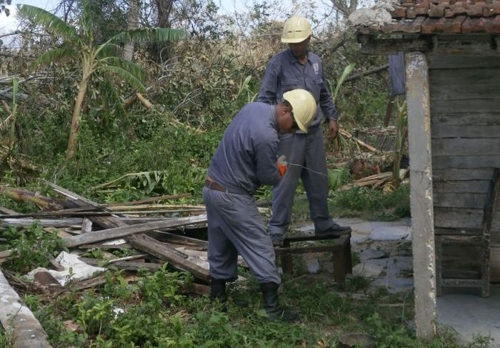 yaguajay, huracan irma, defensa civil, intensas lluvias, micons, electricidad