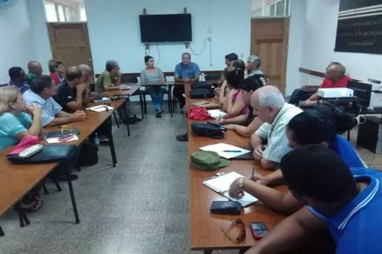 Universidad, Sancti Spíritus, educación Superior, huracán Irma