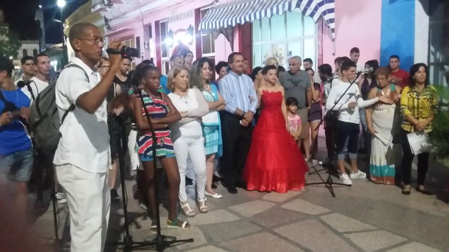 sancti spiritus, universidad, dia de la cultura cubana, cubania, 20 de octubre, himno nacional