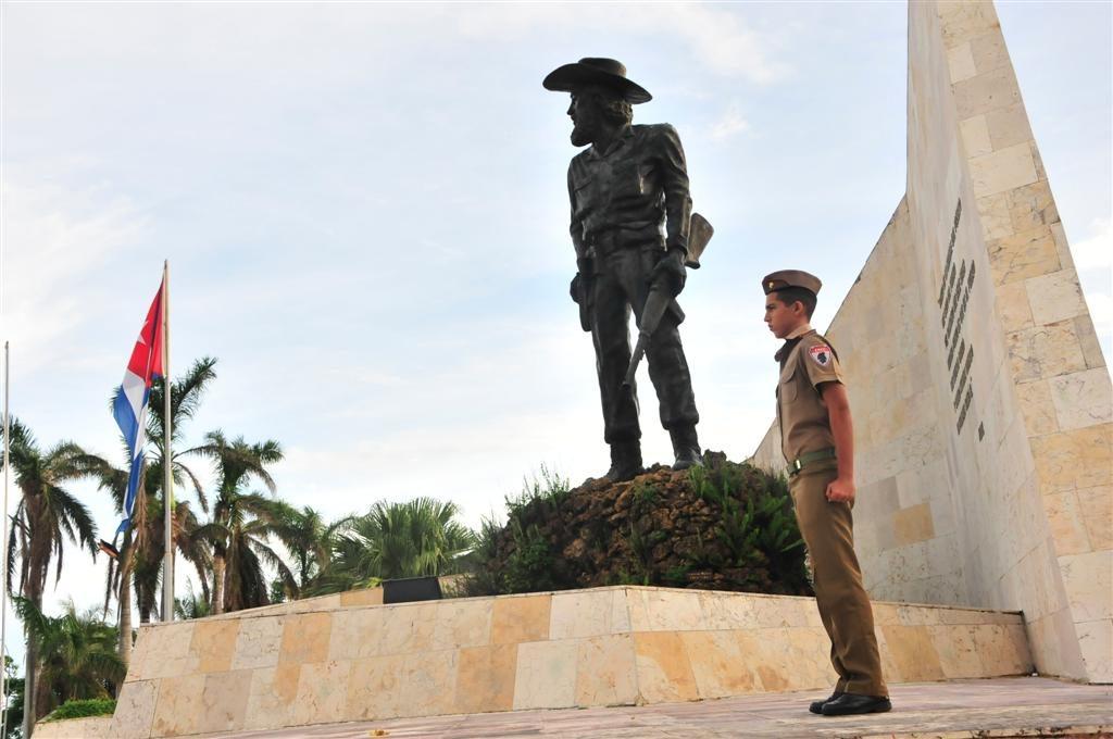Camilo Cienfuegos, Yaguajay, homenaje, Sancti Spíritus