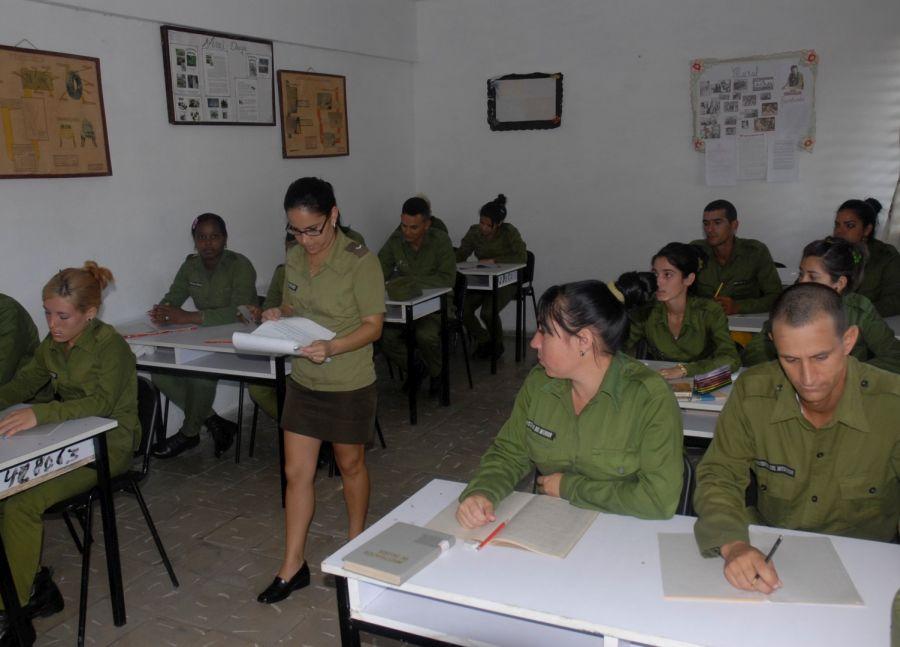MININT, curso, instrucción, policia