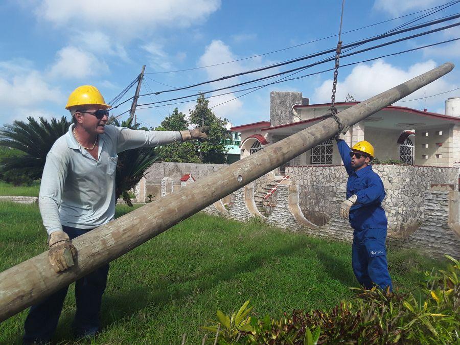 Etecsa, huracán Irma, recuperación, Sancti Spíritus, Villa Clara