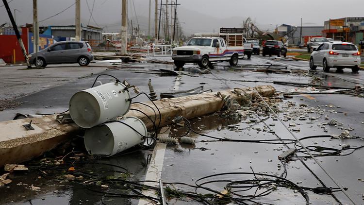 Puerto Rico, electricidad, huracán María