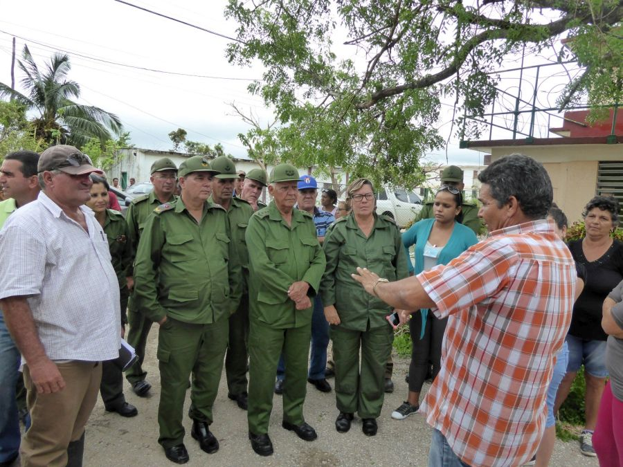 sancti spiritus, yaguajay, quintas sola, huracan irma, mayajigua, materiales de la construccion