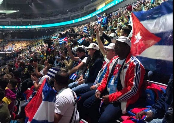 Sochi, Rusia, Festival Juventud, Estudiantes, Cuba