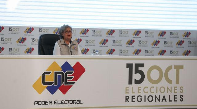 Venezuela, elecciones, regionales, CNE