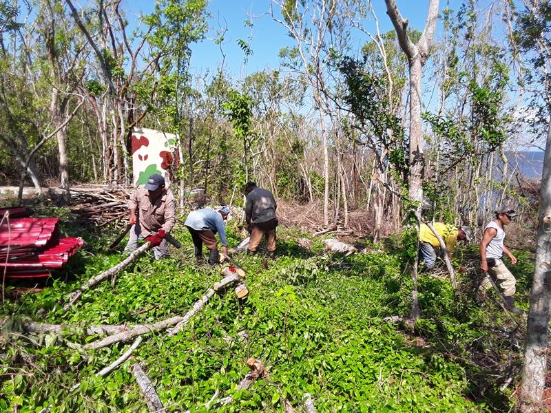 Yaguajay, Caguanes, huracán Irma, recuperación