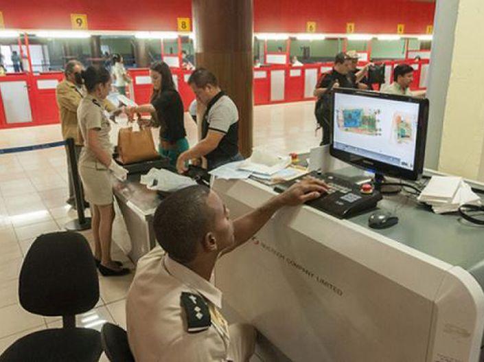 Cuba, Aduana general de la republica, paquetería