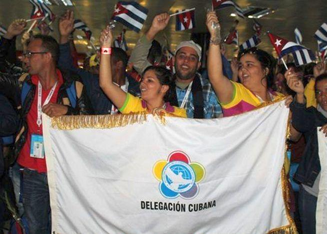 cuba, festival mundial de la juventus y los estudiantes, sochi, rusia