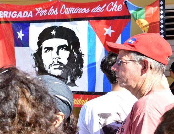 sancti spiritus, cuba, solidaridad con cuba, brigada internacional de solidaridad con cuba, por los caminos del che, ernesto che guevara
