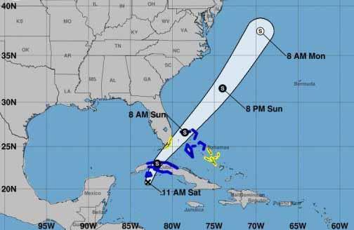 depresión tropical, meteorología, Cuba