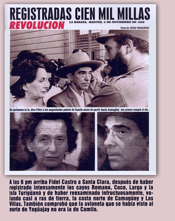 cuba, camilo cienfuegos, camaguey, revolucion cubana, luciano fariñas, piloto, ejercito rebelde, sagua la grande, fidel castro