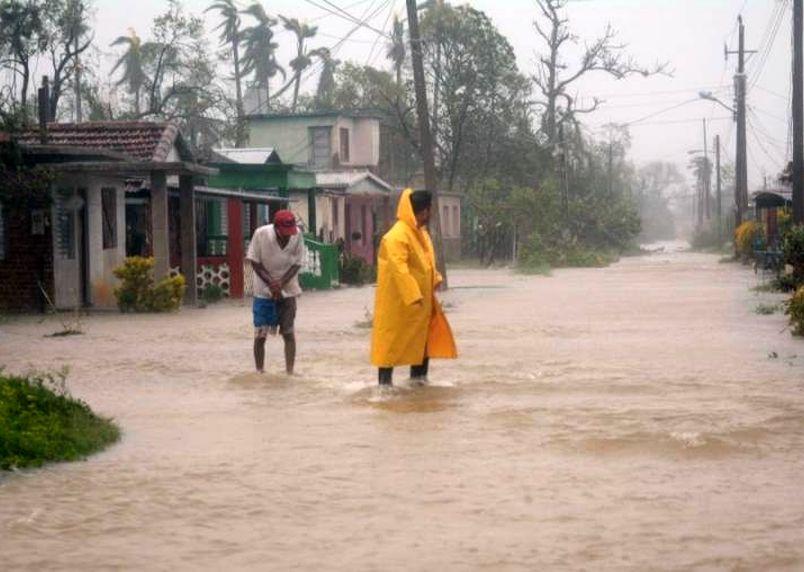 sancti spiritus, intensas lluvias, huracan irma, penetracion del mar, consejo de defensa, estudio de peligro, vulnerabilidad y riesgo