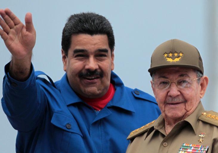 cuba, venezuela, raul castro, nicolas maduro, hugo chavez, fidel castro