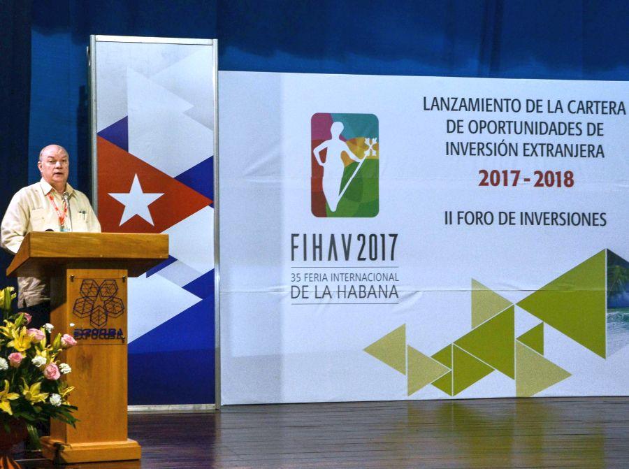cuba, feria internacional de la habana, fihav 2017, inversion extranjera