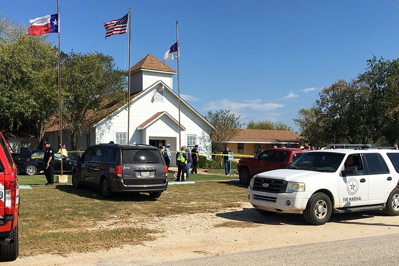 Texas Church Massacre, USA, Donald Trump