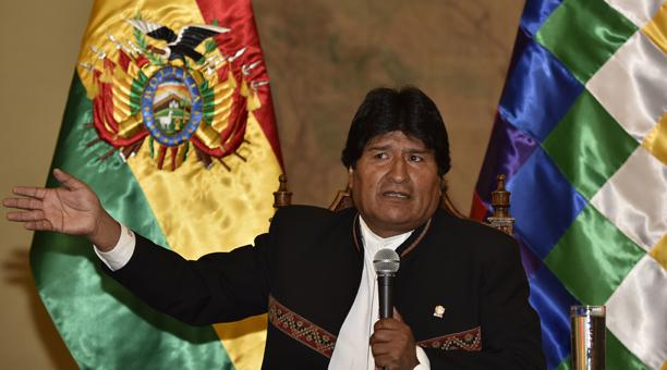 Bolivia, Evo Morales, referendo, presidencia