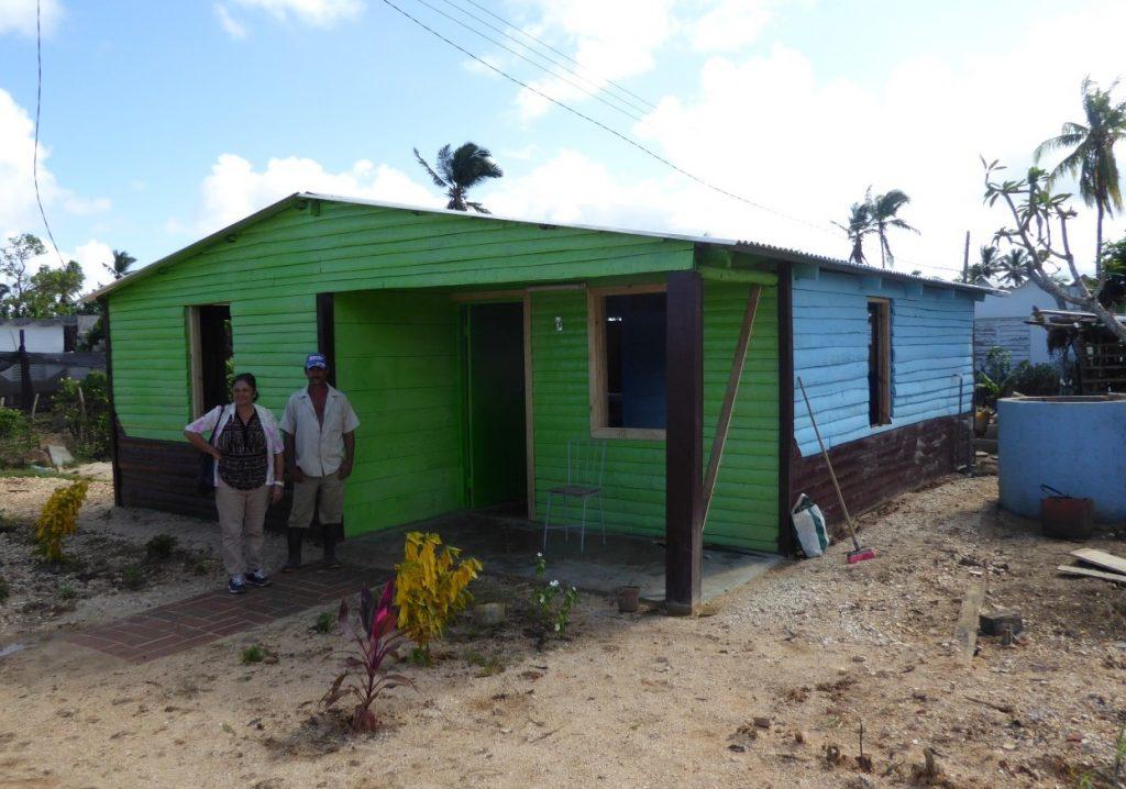 Sancti Spíritus, Cuba, recuperación, huracán Irma, Yaguajay, vivienda