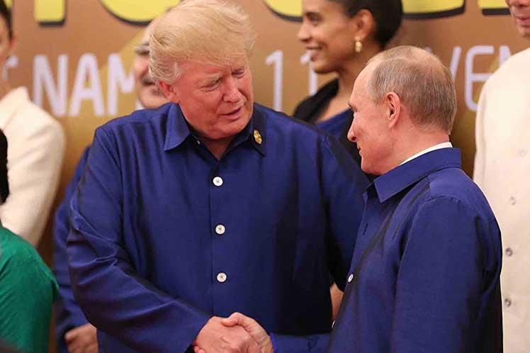 Vladimir Putin, Donald Trump, Vietnam, Rusia, EE.UU., APEC