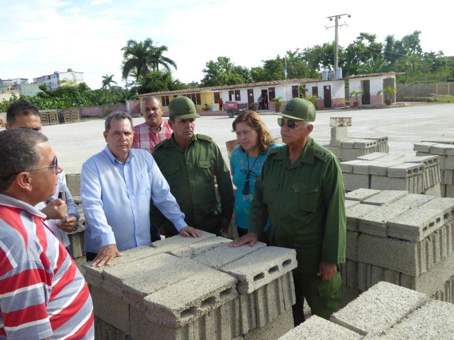 sancti spiritus, joaquin quintas sola, huracan irma, recuperacion, materiales de la construccion, cemento blanco, fabrica de cemento siguaney