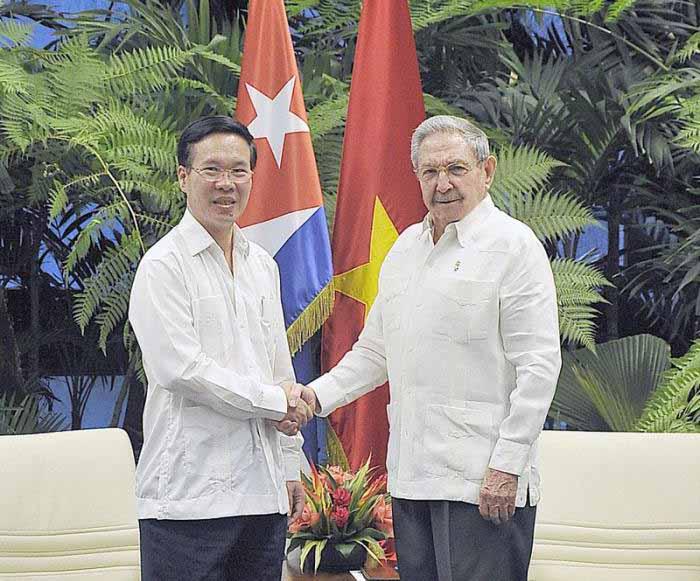 Cuba, Vietnam, Raúl Castro, Partido Comunista