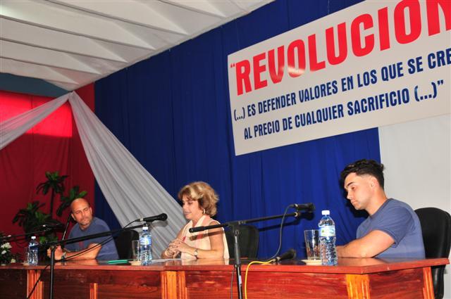Gerardo Hernández, Elián González, UNISS, Sancti Spíritus, Cuba