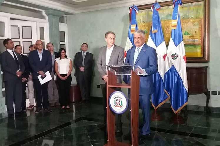 Venezuela, diálogo, Dominicana