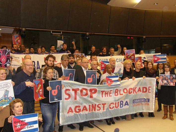 cuba, bloqueo de eeuu a cuba, parlamento europeo, cuba-estados unidos