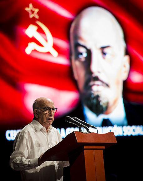 Cuba, Rusia, gala, Revolución de Octubre, Machado Ventura