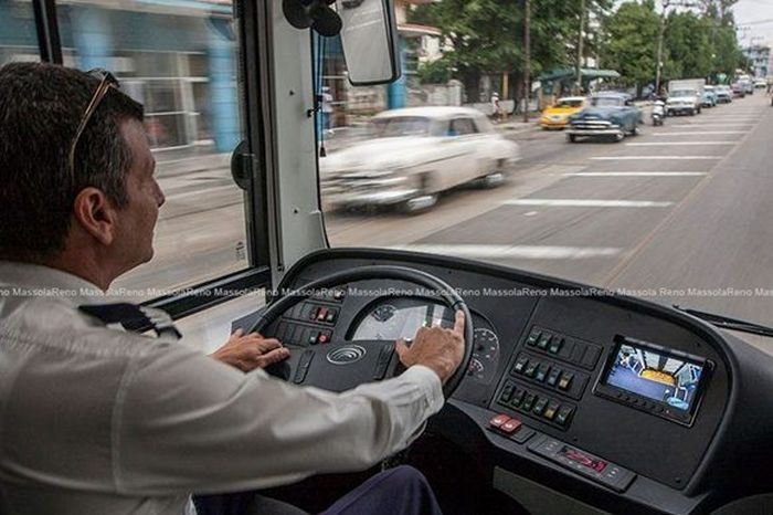 cuba, transporte, omnibus ecologico