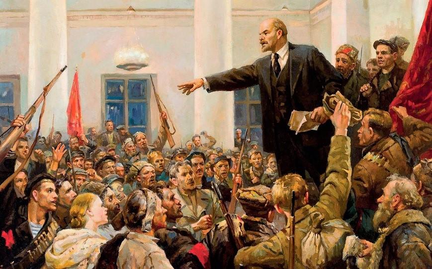 Lenin, Revolución Socialista de Octubre,