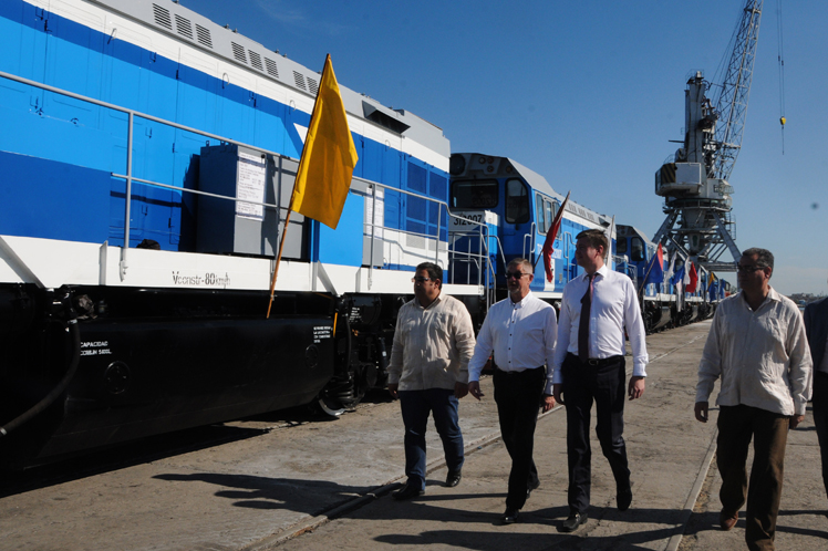 rusia, cuba, ferrocarriles, locomotoras, transporte ferroviario