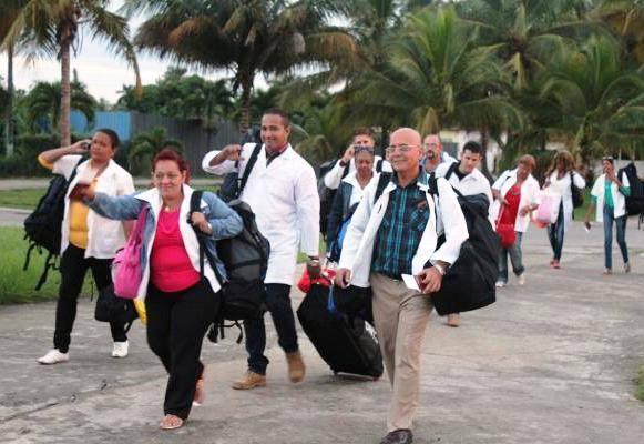 Dominica, Cuba, misión médica, ayuda