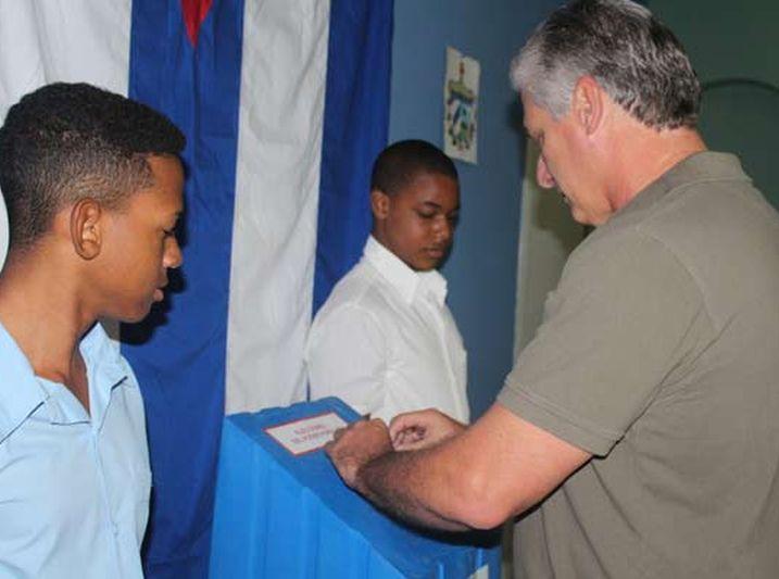 cuba, elecciones en cuba 2017, cuba en elecciones 2017, miguel diaz-canel