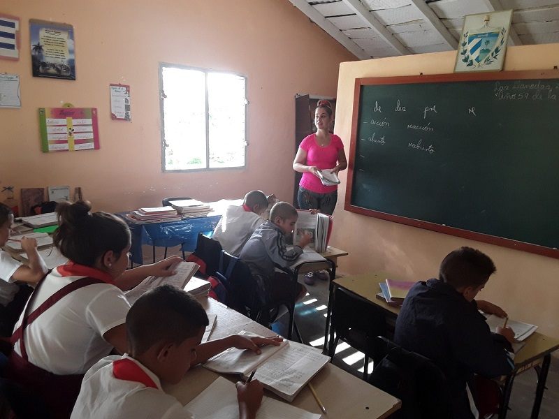Sancti Spíritus después de Irma: escuelas con mejores galas