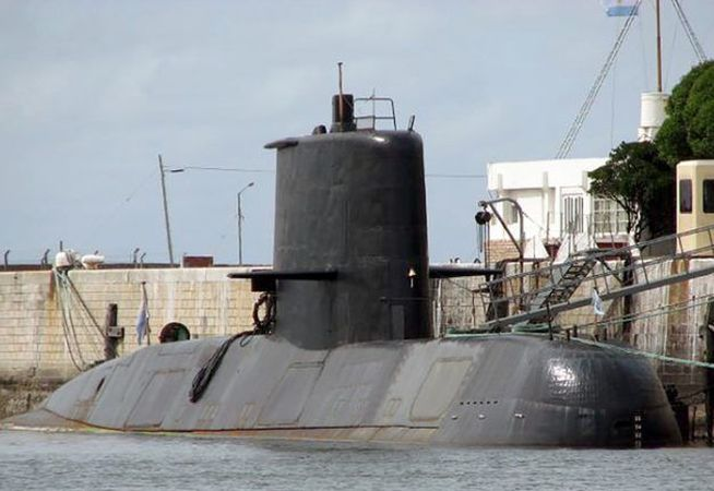 submarino, argentina, accidente