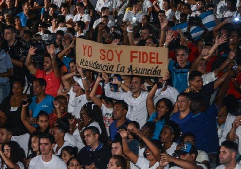 cuba, fidel castro, jovenes cubanos, #fidelporsiempre